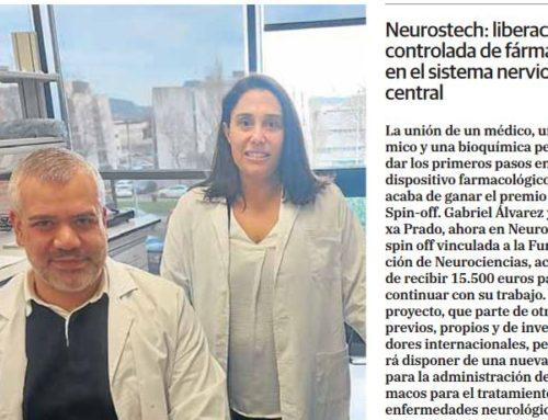 Neurostech, winner of the Radar Spin Off Award 2020